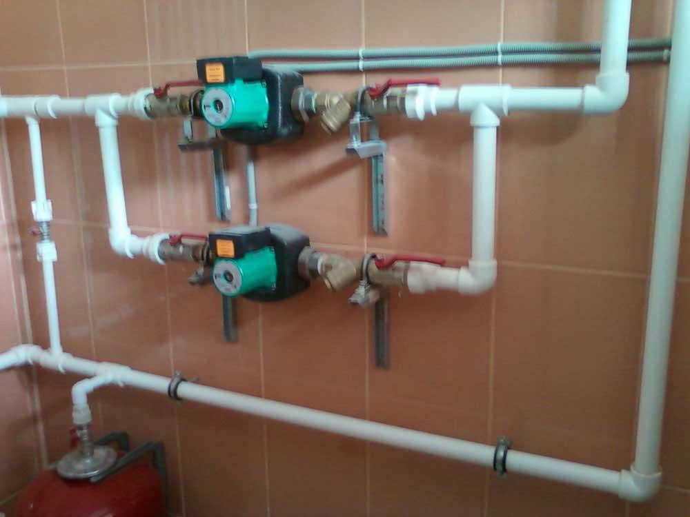 Насосная группа для циркуляции системы отопления
